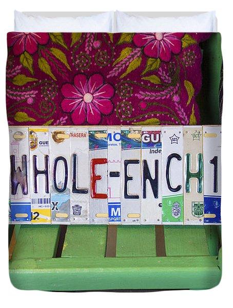 The Whole Enchilada Duvet Cover