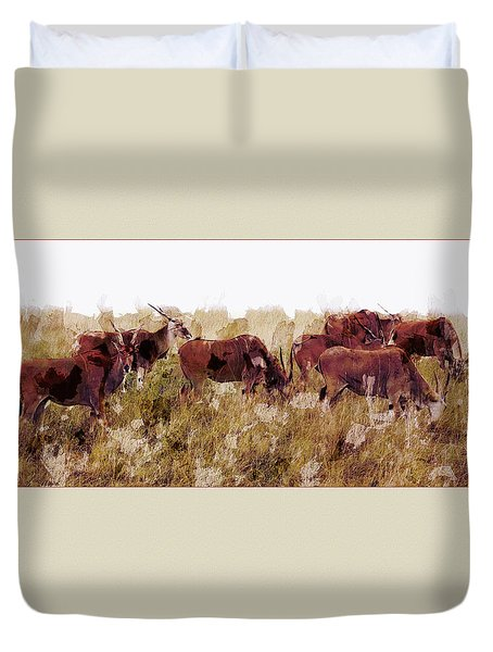 The Wilds Duvet Cover by Ron Jones