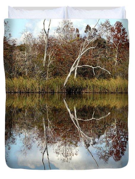 The Winter Tree Duvet Cover by Debra Forand