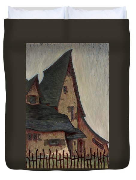 The  Witches House  Duvet Cover