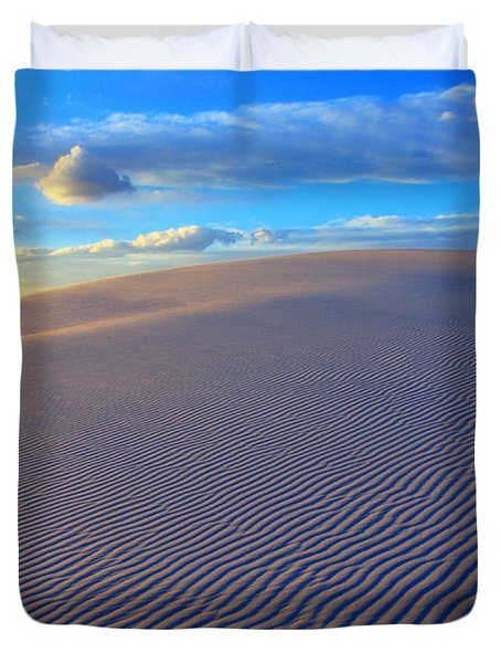 The Wonder Of New Mexico Duvet Cover by Bob Christopher