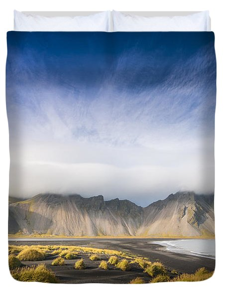 The Young Man Agreed Duvet Cover