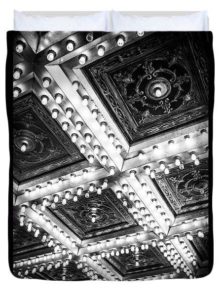 Theater Lights Duvet Cover