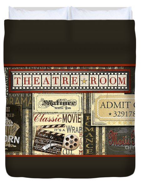Theatre Room Duvet Cover