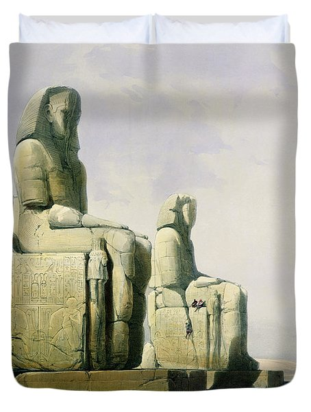 Thebes Duvet Cover by David Roberts