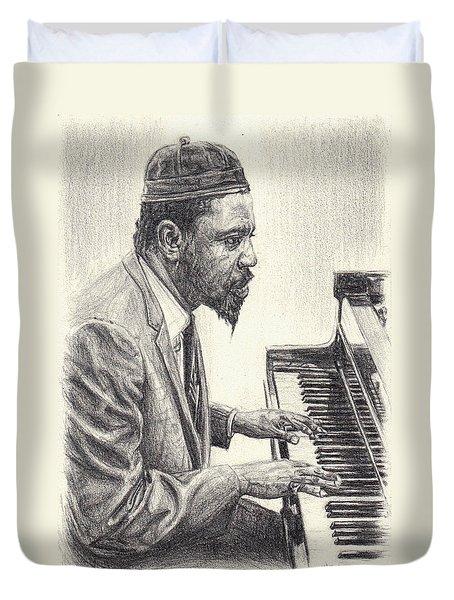 Thelonious Monk II Duvet Cover