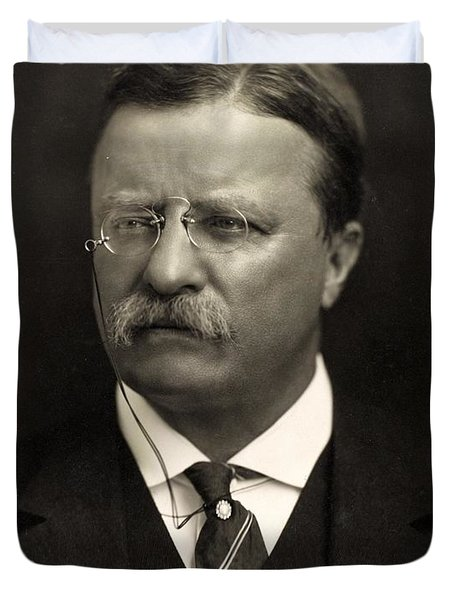 Theodore Roosevelt Duvet Cover by Unknown