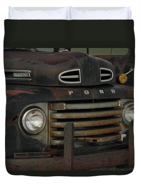 There Is Nothing Like An Old Ford Duvet Cover