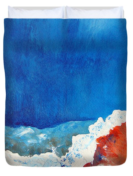 Thermal Shift Duvet Cover by Abbie Groves