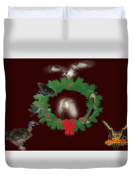 Duvet Cover featuring the photograph These Are A Few Of My Favorite Things 2 by Donna Brown