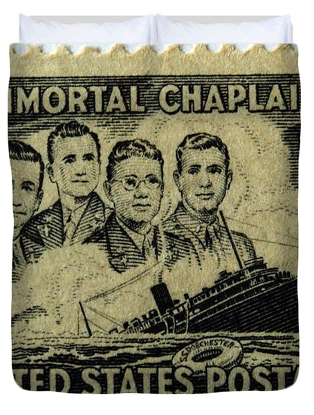 These Immortal Chaplains Duvet Cover