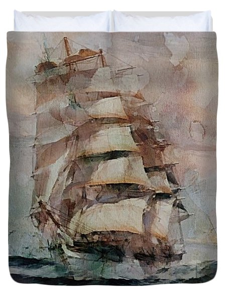 Thessalus Duvet Cover by Dragica  Micki Fortuna