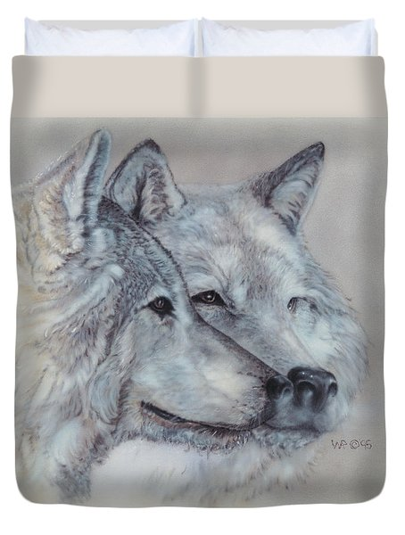 They Mate For Life Duvet Cover