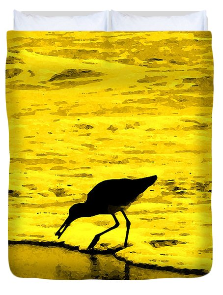 Duvet Cover featuring the photograph This Beach Belongs To Me by Ian  MacDonald