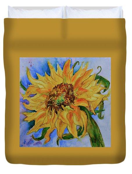 This Here Sunflower Duvet Cover
