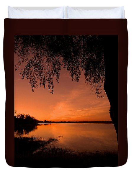 Duvet Cover featuring the photograph This Is A New Day ... by Juergen Weiss