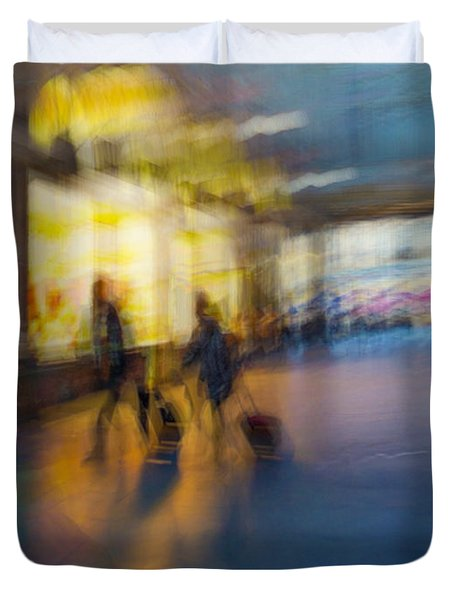 Duvet Cover featuring the photograph This Is How We Roll by Alex Lapidus