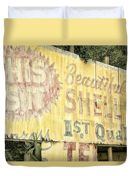 This Is It Duvet Cover by Joan Carroll