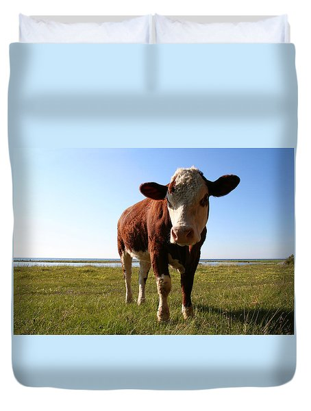 This Is My Grass Duvet Cover