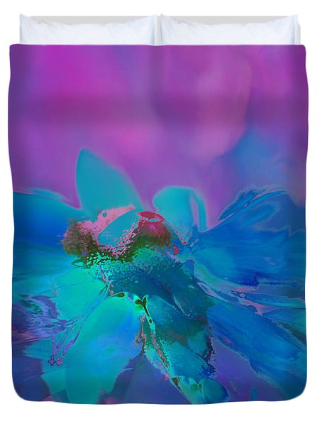 This Is Not Just Another Flower - Bpb02 Duvet Cover by Variance Collections