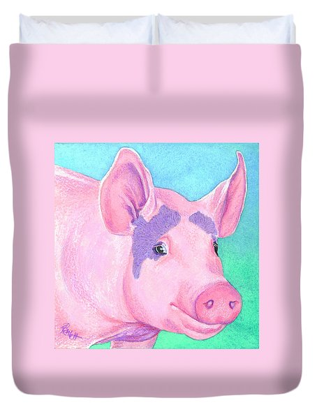 This Little Piggy Duvet Cover