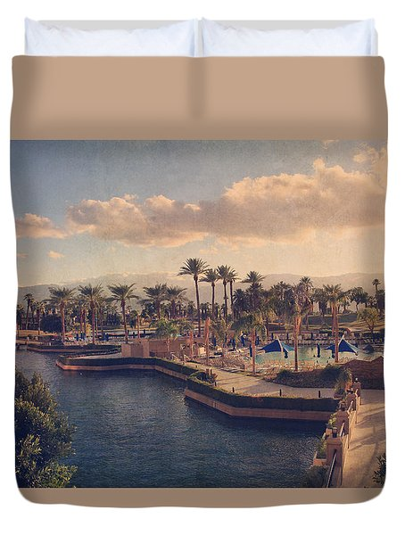 This Way  Duvet Cover by Laurie Search