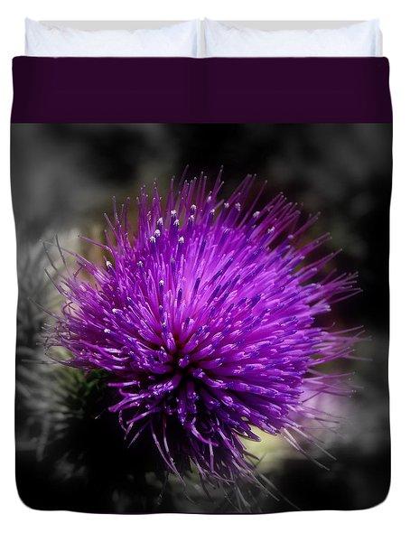Thistle Flower Duvet Cover