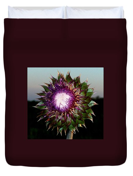 Thistle Night Duvet Cover