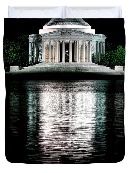 Thomas Jefferson Forever Duvet Cover