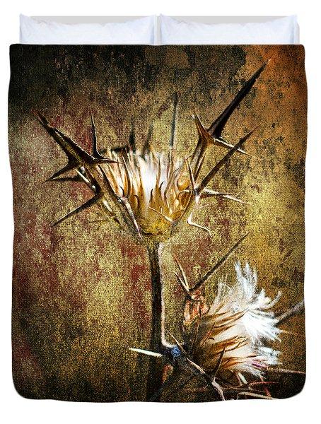 Thorns Duvet Cover by Stelios Kleanthous