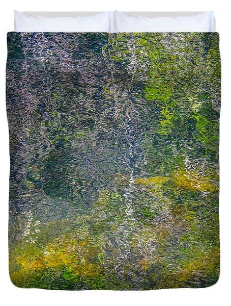 Thornton's Canvas Duvet Cover by Roxy Hurtubise