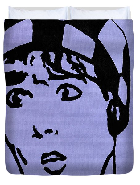 Thoroughly Modern Millie Duvet Cover by Alys Caviness-Gober