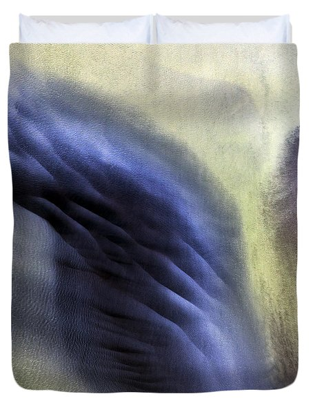 Duvet Cover featuring the photograph Thor Wing by Gunnar Orn Arnason