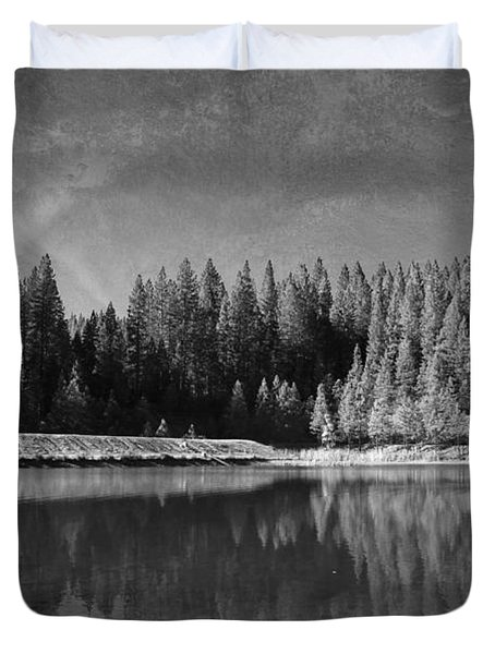 Those Days Are Gone Duvet Cover by Laurie Search