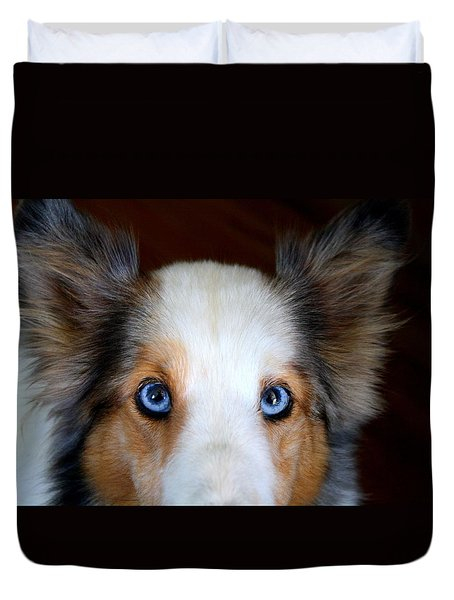 Those Eyes Duvet Cover