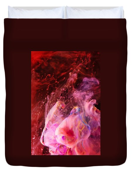 Thoughts - Abstract Photography Art Duvet Cover by Modern Art Prints
