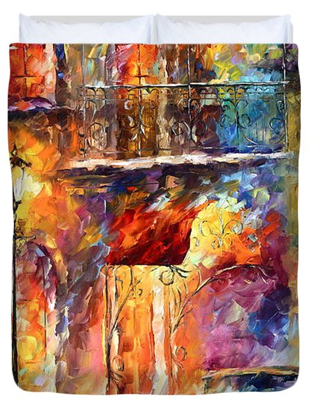 Thoughts Of My Ancestors  Duvet Cover by Leonid Afremov