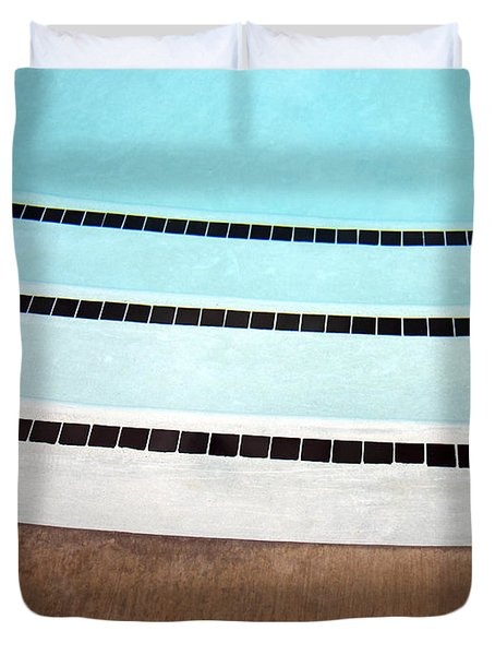 Three And A Half Palm Springs Duvet Cover