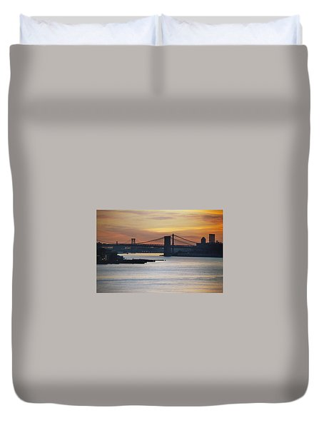 Three Bridges Duvet Cover