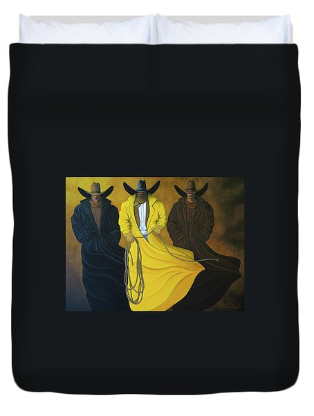 Three Brothers Duvet Cover by Lance Headlee