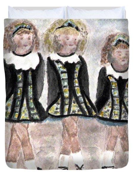 Three Irish Lasses Duvet Cover