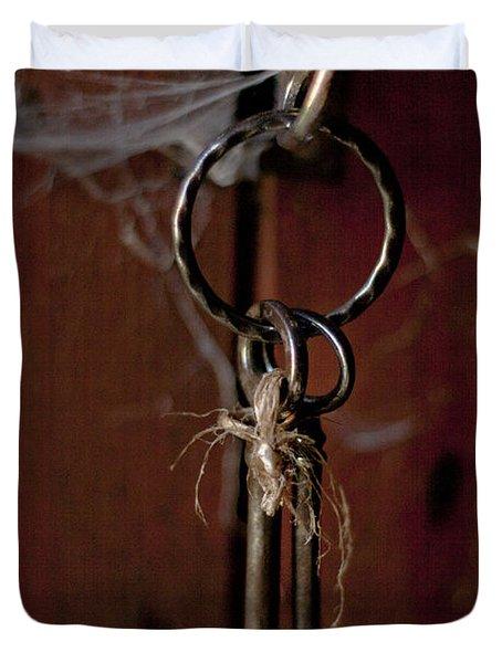 Three Keys Duvet Cover by Georgia Fowler