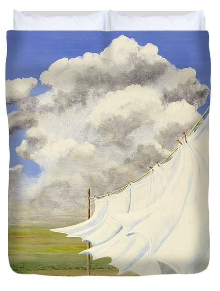 Three Sheets To The Wind Duvet Cover