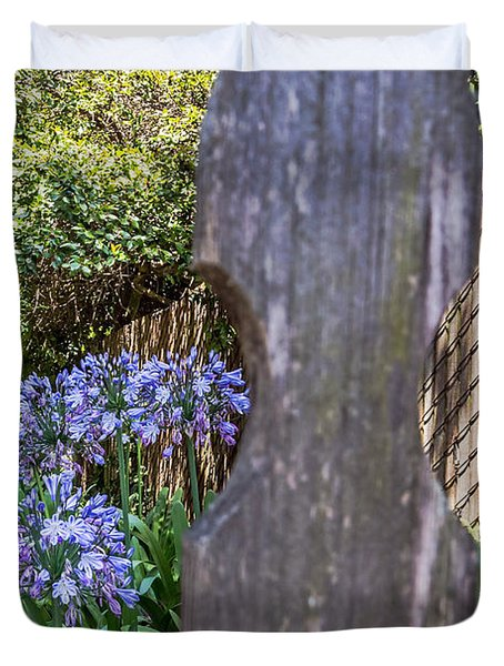 Through The Fence Duvet Cover