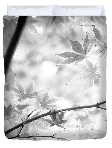 Through The Leaves Duvet Cover
