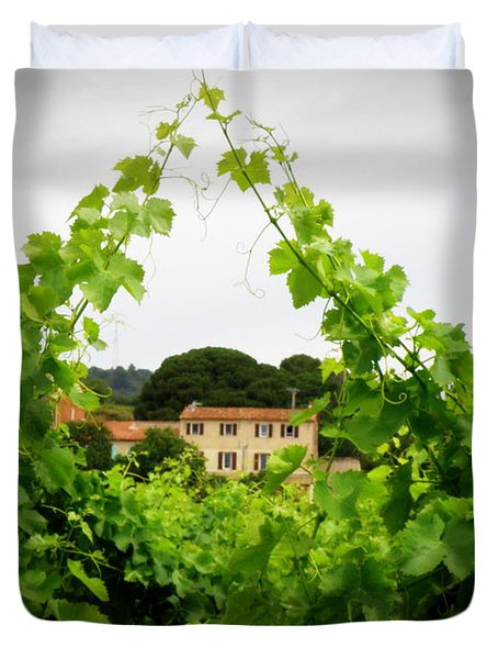 Through The Vines Duvet Cover by Lainie Wrightson