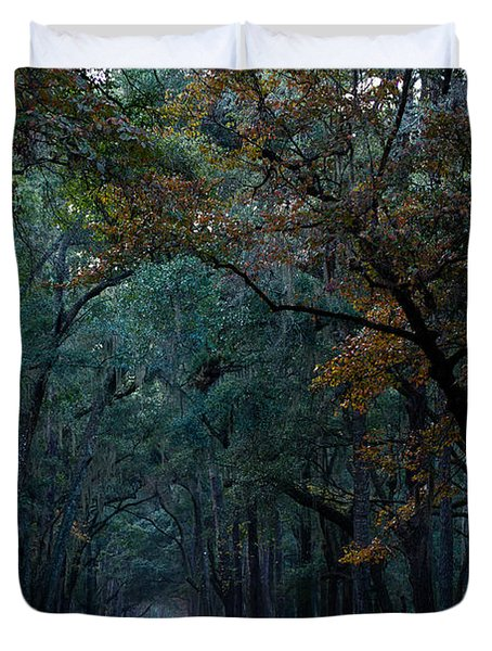 Through The Woods Duvet Cover