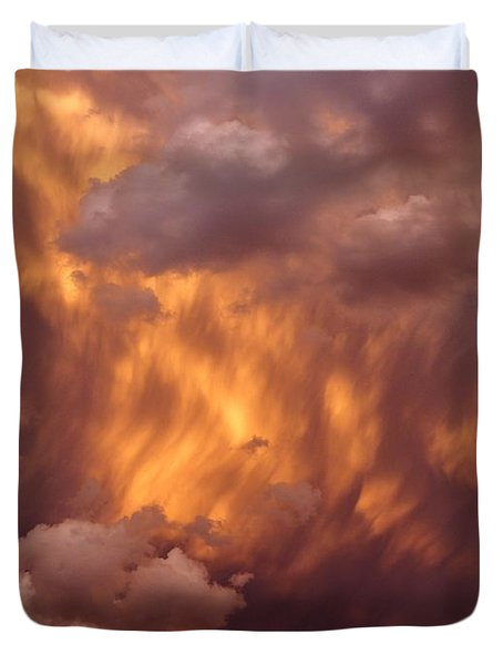 Thunder Clouds Duvet Cover
