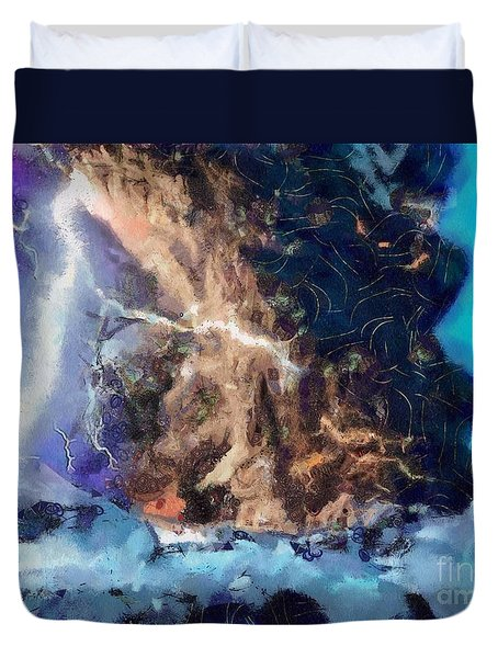 Thunder Struck Duvet Cover