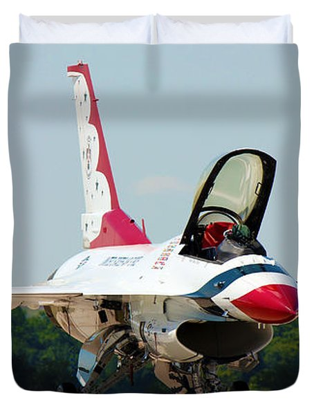 Thunderbird No2 Duvet Cover